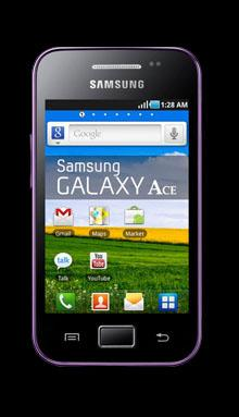 Samsung S5830i Galaxy Ace Black