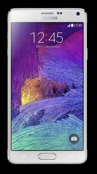 Samsung Galaxy Note 4 N910C white