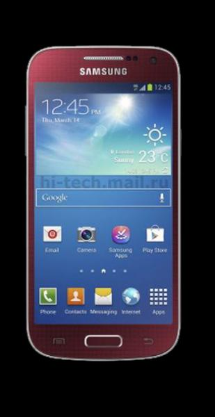 Samsung Galaxy S4 Mini Red La Fleur