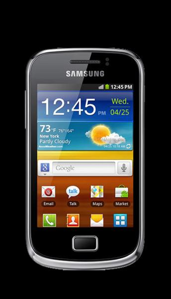 Samsung Galaxy Mini II (S6500) Yellow