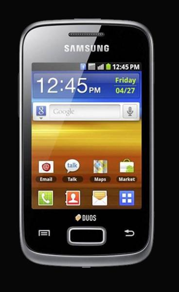 Samsung Galaxy Y Duos Black